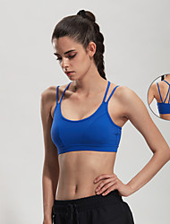 Jinxiuheshan® Running Bra / Tank / Tops Women's Breathable / Quick Dry / Lightweight Materials / Shockproof / Sweat-wicking Spandex / NylonYoga /