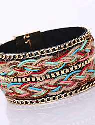 New Fashion Vintage / Cute / Party / Casual Alloy / Chain Magnet Alloy Buckle Bracelet