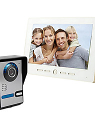 The 10 inch big screen 700 HD video intercom doorbell on a line