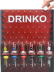 European Popular Series Drinking Fun Drop Round Game Wine Bar Toys