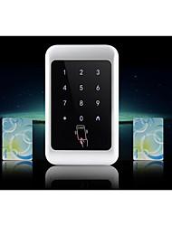 controle de metais senha integrada cartão de máquina de cartão IDIC acesso ao exterior impermeável máquina de controle de aço inoxidável