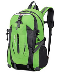 40L Backpacking Pack Camping & Hiking / Climbing Outdoor Multifunctional Green / Red / Black / Blue / Orange Nylon