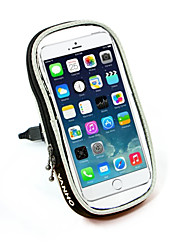 Bike Handlebar BagWaterproof / Reflective Strip /  Phone Holder / Iphone / Touch Screen / Multifunctional for 5.5inch