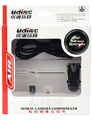UDI RC Accessories UDI RC U12W Camera/Video / Parts Accessories RC Airplanes / RC Quadcopters Black PET