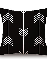 Cotton/Linen Pillow Cover,Geometric / Graphic Prints Modern/Contemporary / Casual