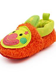 Para NiñoPrimeros Pasos / Zapatos de Cuna-Bailarinas-Exterior / Casual-Tejido-Naranja