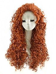 Cosplay Wigs Brown Color Afro Synthetic Cheap Kinky Curly Wigs Fashion Wigs