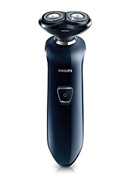 Electric Shaver Men Face Electric / Rotary Shaver Pivoting Head / LED Light / Ergonomic Design Stainless Steel PHILIPS