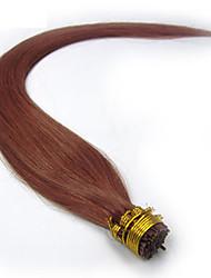 indiano i ponta da extensão do cabelo 1g ficar vara reta cabelo ponta da ponta da queratina 100 extensões de cabelo humano