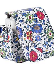 pu bolsa de câmera caso de couro com alça de ombro removível para Fujifilm Instax mini-câmera de 8 filme instantâneo