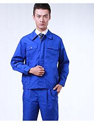 longa lona de algodão de mangas dos homens oficina de soldagem processamento de roupas de reparação automóvel trabalhando vestuário de