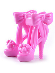 11-Inch Doll Shoes And High-Heeled Shoes Jewelry Accessories Fashion Fantasy Children'S Play Dress Up Toys Paragraph E