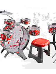 Large stall selling children's drums