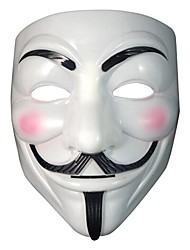 Mask Anonymous Guy Fawkes Fancy Dress Adult Costume Accessory  Halloween