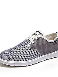 Men's Shoes Casual/Travel Fashion Fabric Breathable Black//Khaki/Grey
