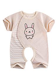 Vêtements de nuit bébé Rayé Décontracté / Quotidien Coton Eté,Marron / Vert