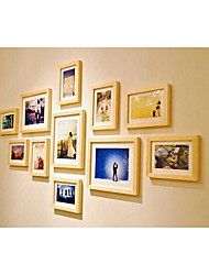 11pcs photo wall Retro Rectangular,Ceramic 1set Medium