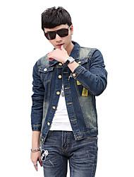 Autumn/man/long/denim/jacket/coat/new/fashion  SLS-NZ-JK31801