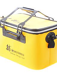 shenmaoq caixa de pesca de oxigênio eva recarregável 42 * 25 * 26cm