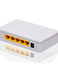Hisource Hi-SF41 10Mbps/100Mbps 4 LAN Fast Ethernet Router Desktop Ethernet Switch