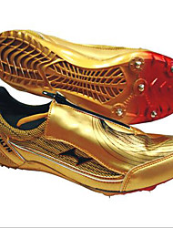 Men's Shoes PU Athletic Shoes Track & Field Studded Gold