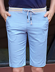 Zhuo wolf men's casual shorts in summer 5 points five pants tide slim pants in K2637 thin.