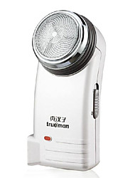 Electric Shaver Men Face Electric / Rotary Shaver Pivoting Head Stainless Steel Trueman