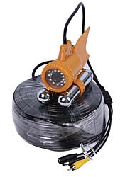 Видеодомофон 30m безопасности 24LEDs 1000tvl подводный искатель рыб рыбалка видеокамеру