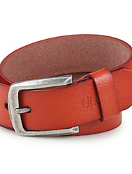 Masculino Cinto para a Cintura Vintage / Festa / Trabalho / Casual Liga / Couro Couro Sintético Masculino