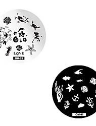 Arte del chiodo che timbra il piatto della matrice raschietto 5.5