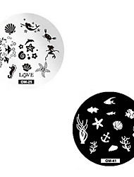 Nail Art Stamping Plate Stamper Scraper 5.5