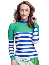 SBART® Women's Wetsuits Dive Skins Ultraviolet Resistant Compression Tactel Diving Suit Long SleeveDiving Suits Swimwear