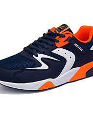 Men's Shoes PU Athletic / Casual Sneakers / Clogs & Mules Athletic / Casual Indoor Court Flat Heel Others / Lace-up