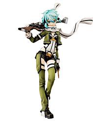 Figures Animé Action Inspiré par Sword Art Online Shino 24 CM Jouets modèle Jouets DIY