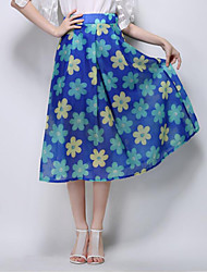 Damen Röcke - Anspruchsvoll Midi Andere Mikro-elastisch