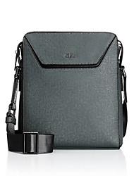 CKI Men Shouder Bags Top Grade Genuine Leather Men Business Bag Vintage First Layer Cowhide Messenger Bags Grey