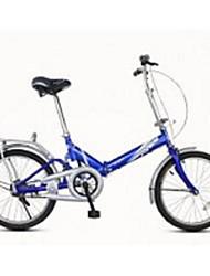 Falträder Radsport 7 Geschwindigkeit 20 Zoll Unisex / Herren / Damen V - Bremse Ordinär Faltbar gewöhnlich Stahl Rot / Gelb / Blau / Weiß