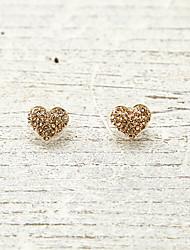Hartvorm,Sieraden 1 paar Modieus Gouden Legering Causaal