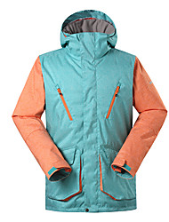 Gsou snow men ski jackets /snowboard/double snowboard jackets/men outdoor windproof waterproof ski-wear