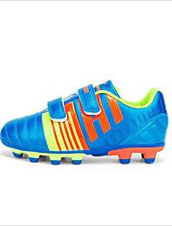 Para NiñoConfort-Zapatillas de Atletismo-Exterior / Deporte-Cuero Patentado-Azul / Negro / Naranja