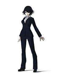Inspired by Ajin Shimomura Izumi Anime Cosplay Costumes Cosplay Suits Solid Black Long Sleeve Coat / Shirt / Pants