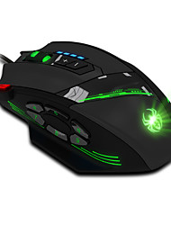ZELOTES USB Wired 12 Programmable Buttons LED Optical Professional Novelty Gaming Mouse Mice