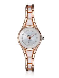 2016 noble diamant personnalité de quartz 18k luxe or rose montres femmes