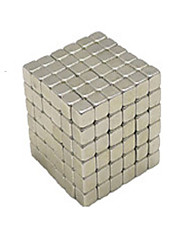 Executive Toys Puzzle Cube DIY Balls Magnetic Balls Magnet Toys Silver Education Toys For Gift