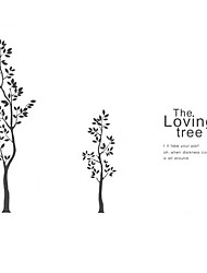 Fashion The Sister tree Pattern PVC Bathroom or Bedroom or Glass Wall Sticker Home Decor