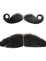 Neitsi Human Hair Fake Mustache Party Mixed Stylish Costume Funny Moustache Fancy Dress