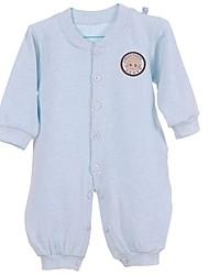 Sous-vêtements bébé Couleur Pleine Décontracté / Quotidien Coton Eté / Automne Bleu / Rose / Jaune / Beige / Gris
