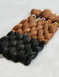 Box Tranças Tranças de cabelo Kanikalon