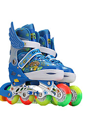 Unisex Athletic Shoes Motorcycle Boots Tulle / PU Hook & Loop Blue / Green / Red Skate Shoes