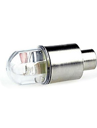 Wheel Lights Valve Cap Flashing Lights - Cycling Easy Carrying Button Battery 270 Lumens Cycling/Bike